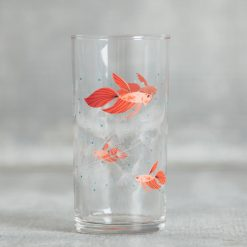 Relish Decor Fishs Eddy oldham harper betta fish bubble juice glass