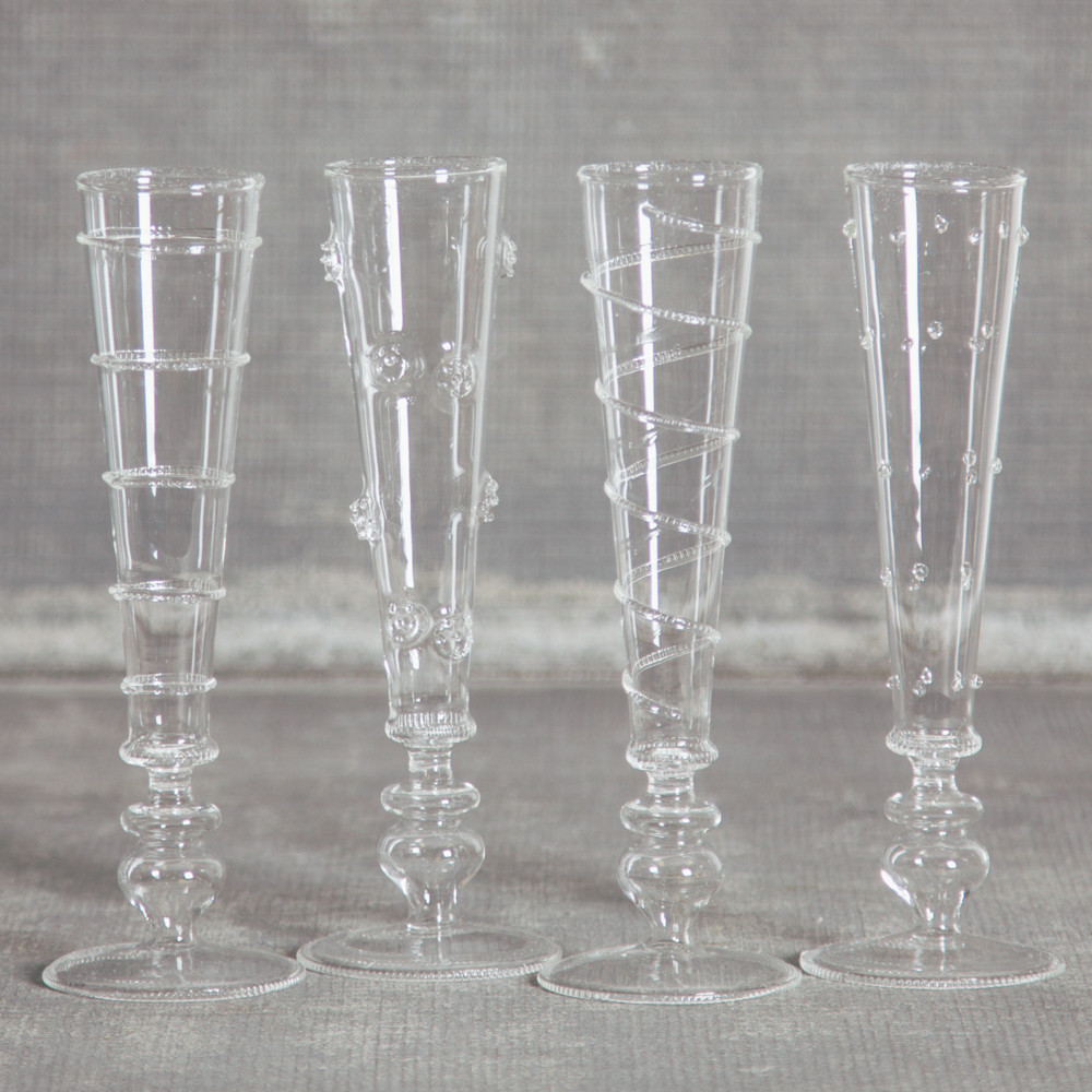 Sabine Champagne Flutes Relish Decor