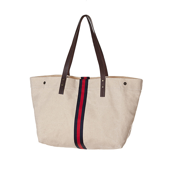 gravel-waxed-market-tote-bag-navy-red-stripe