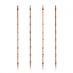 Viski-Copper-Bamboo-Straws-Relish-Decor