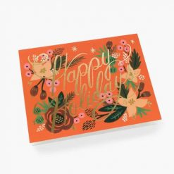 rifle-paper-co-holiday-card-poinsettia-holiday-relish-decor
