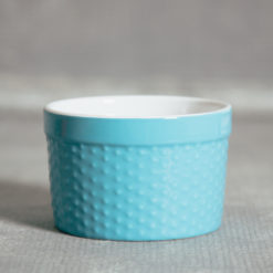 Audrey Hobnail Ramekin Blue Relish Decor