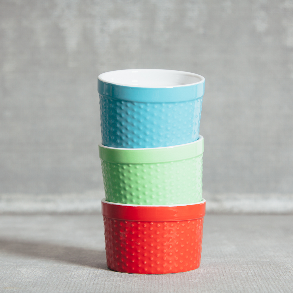 Audrey Hobnail Ramekin Relish Decor