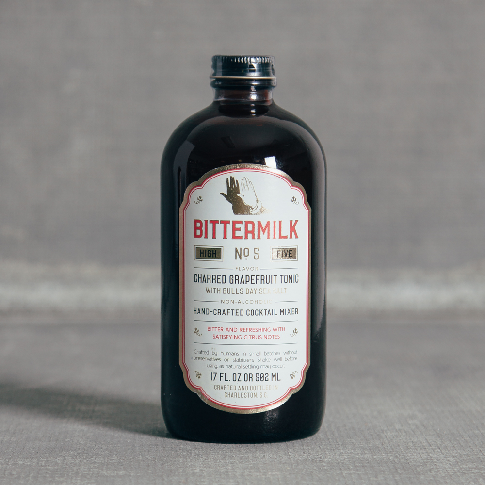 Bittermilk No. 5 Charred Grapefruit Tonic Relish Decor