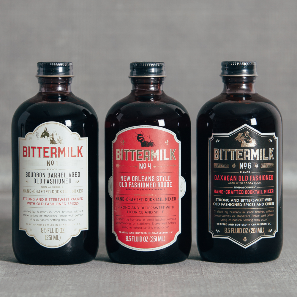 Bittermilk Old Fashioned Trio Relish Decor