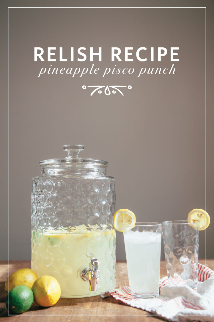 relish decor summer punch drink recipe 2