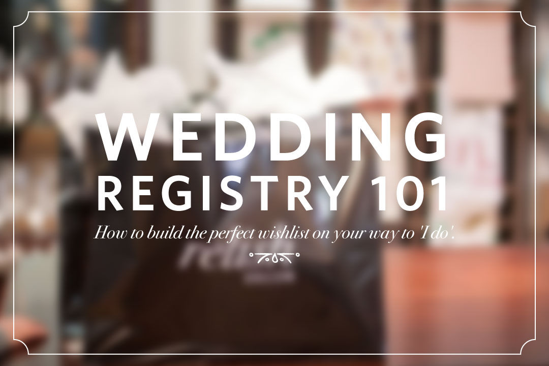 relish decor wedding bridal gift registry 101 tips
