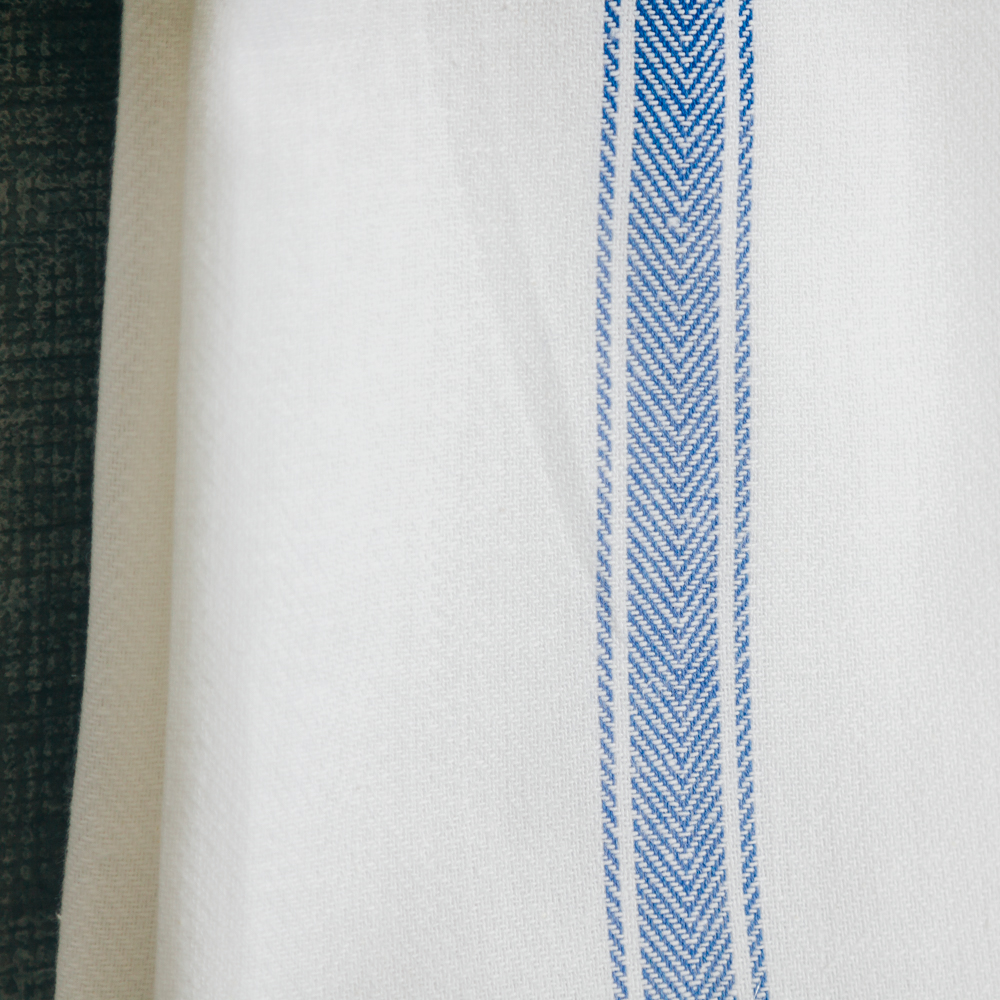 Brooklyn Stripe Serviette Set Blue Stripe Relish Decor