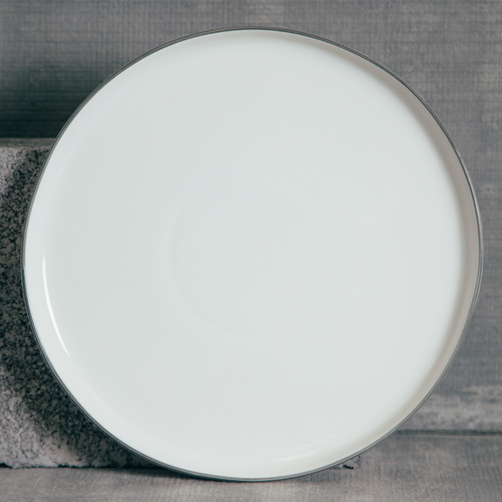 Canvas Home Abbesses Grey Dinner Plate Relish Decor