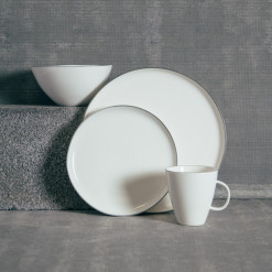 Canvas Home Abbesses Grey Dinnerware Collection Relish Decor