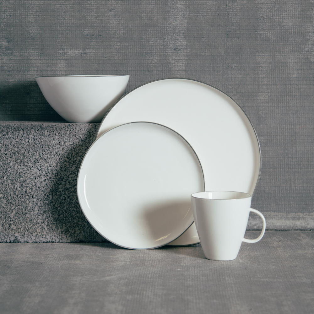 Canvas Home Abbesses Grey Dinnerware Collection Relish Decor & Abbesses Grey Dinnerware Sets - Relish Decor