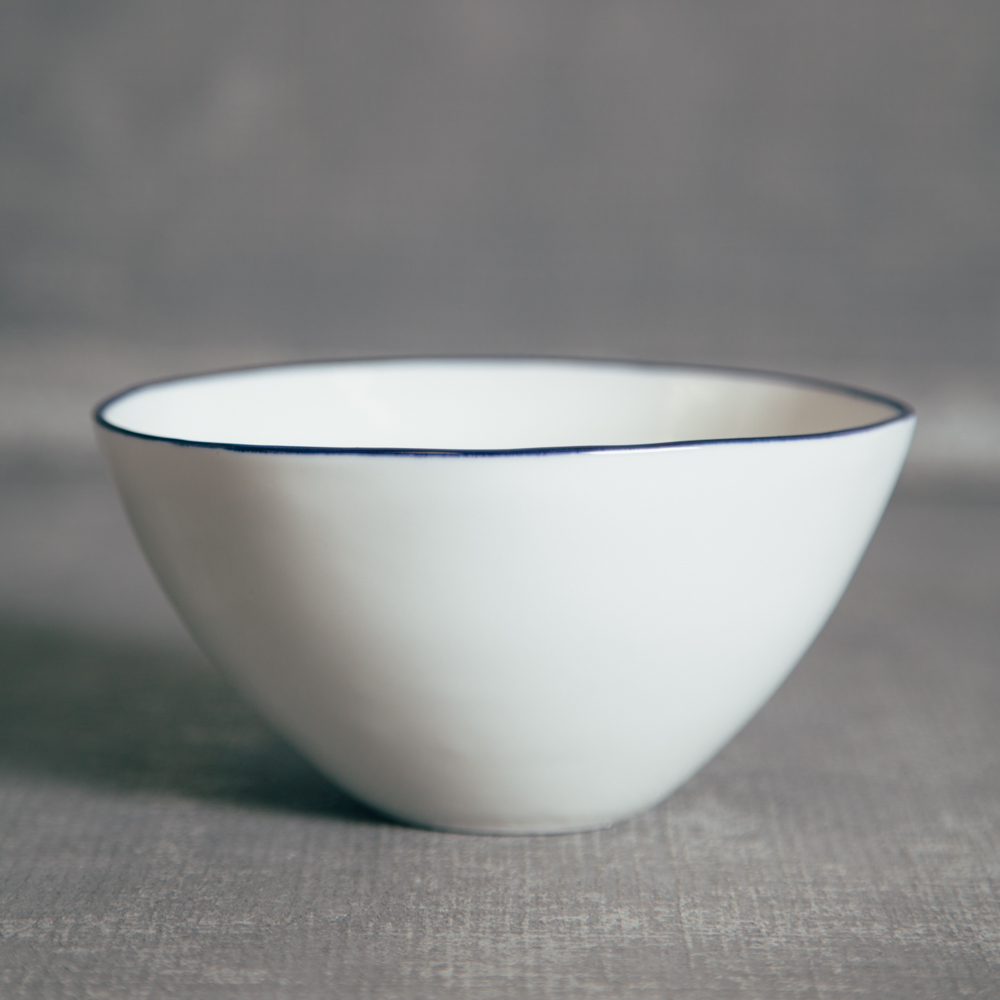 Canvas Home Abbesses Navy Bue Cereal Bowl Relish Decor