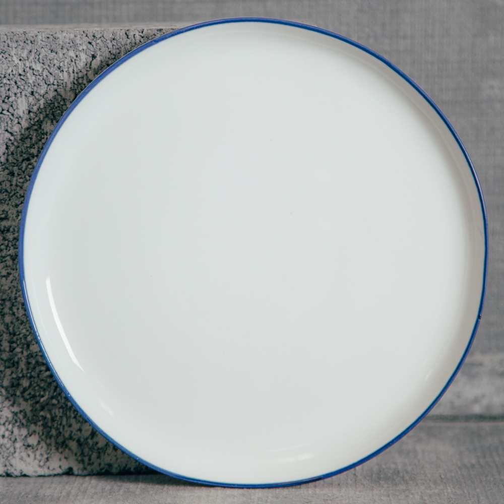 Canvas Home Abbesses Navy Bue Salad Plate Relish Decor