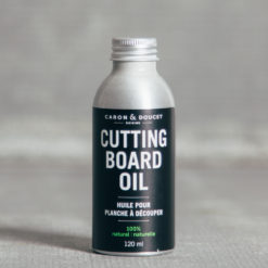 Caron and Doucet All Natural Cleaning Products Cutting Board Oil Relish Decor