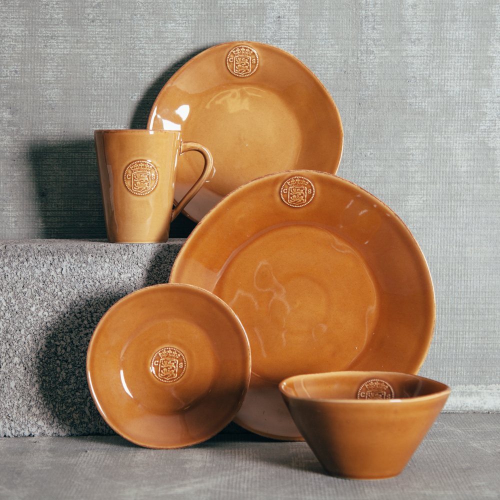 Casafina Cognac Dinnerware Collection Relish Decor