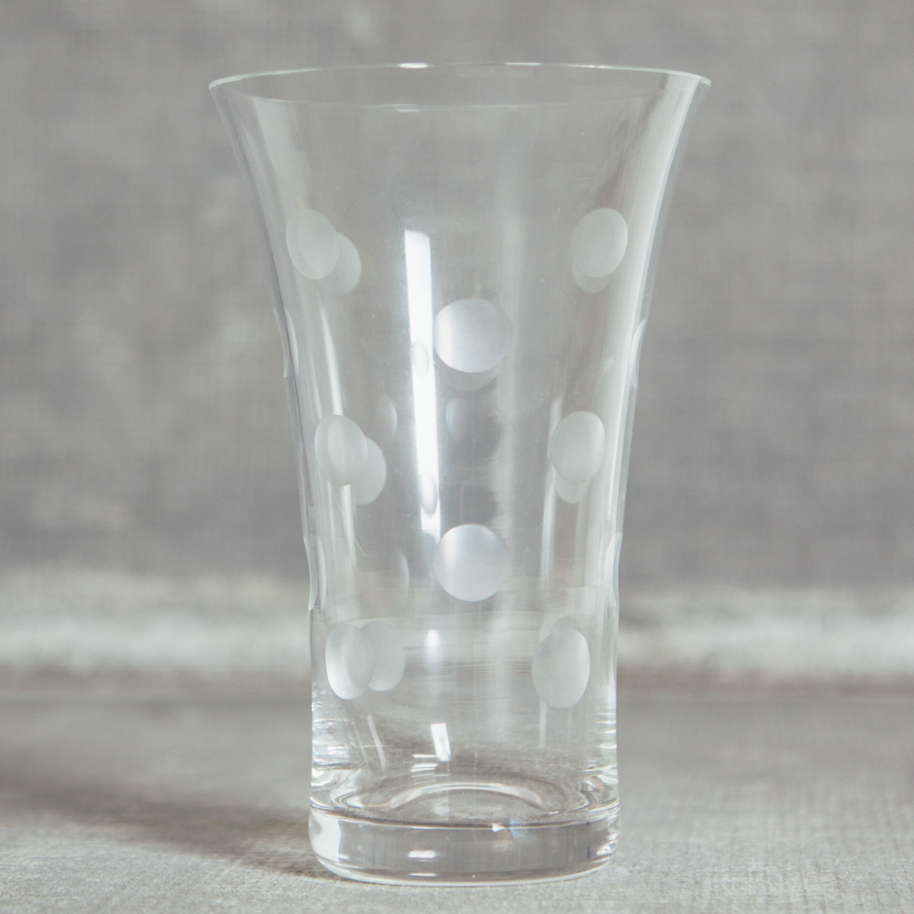 Casafina Dot Tumbler Glass Glassware Collection Relish Decor Polka Dot.