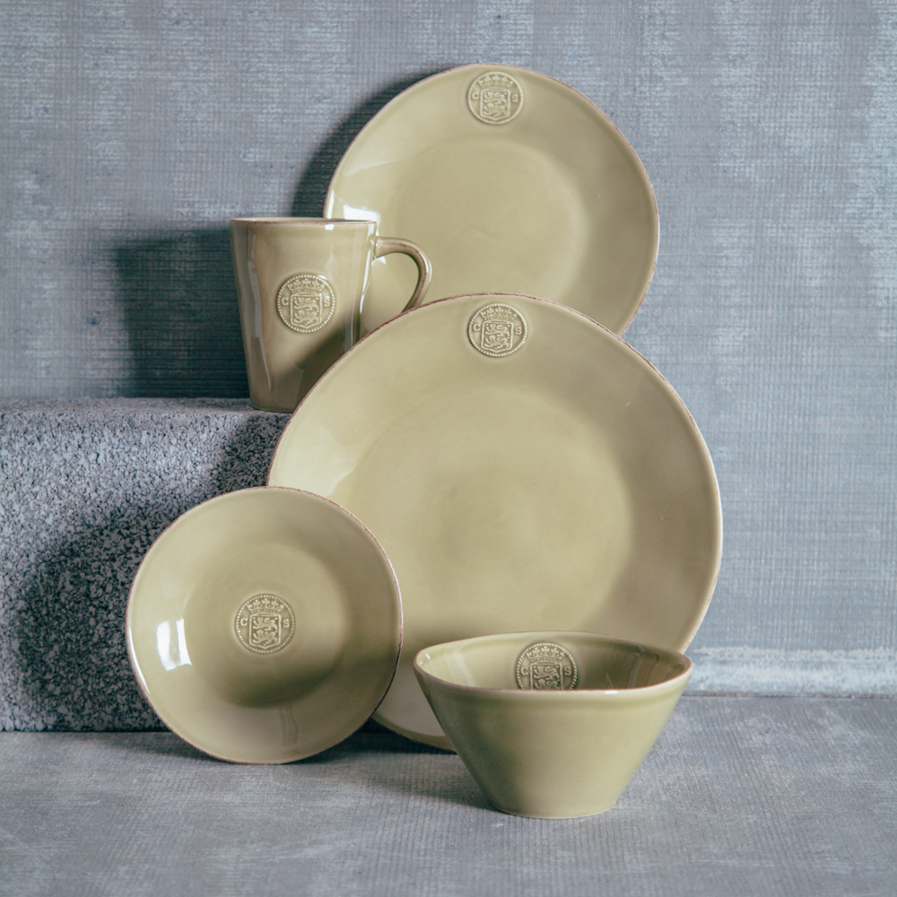Casafina Forum Khaki Dinnerware Collection Relish Decor & Casafina Forum Khaki Dinnerware Collection Relish Decor - Relish Decor