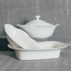 Casafina Meridian Bakeware Collection White Relish Decor