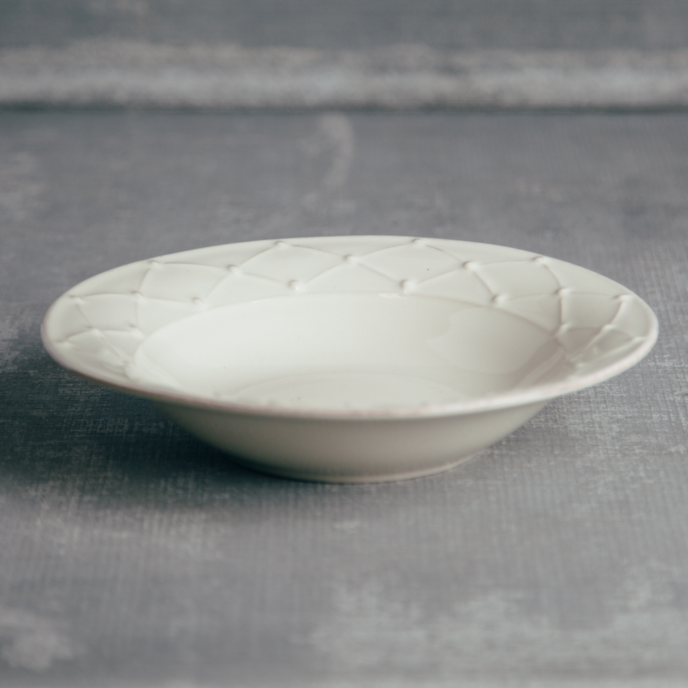 Casafina Meridian Classic Ivory Bowl Relish Decor