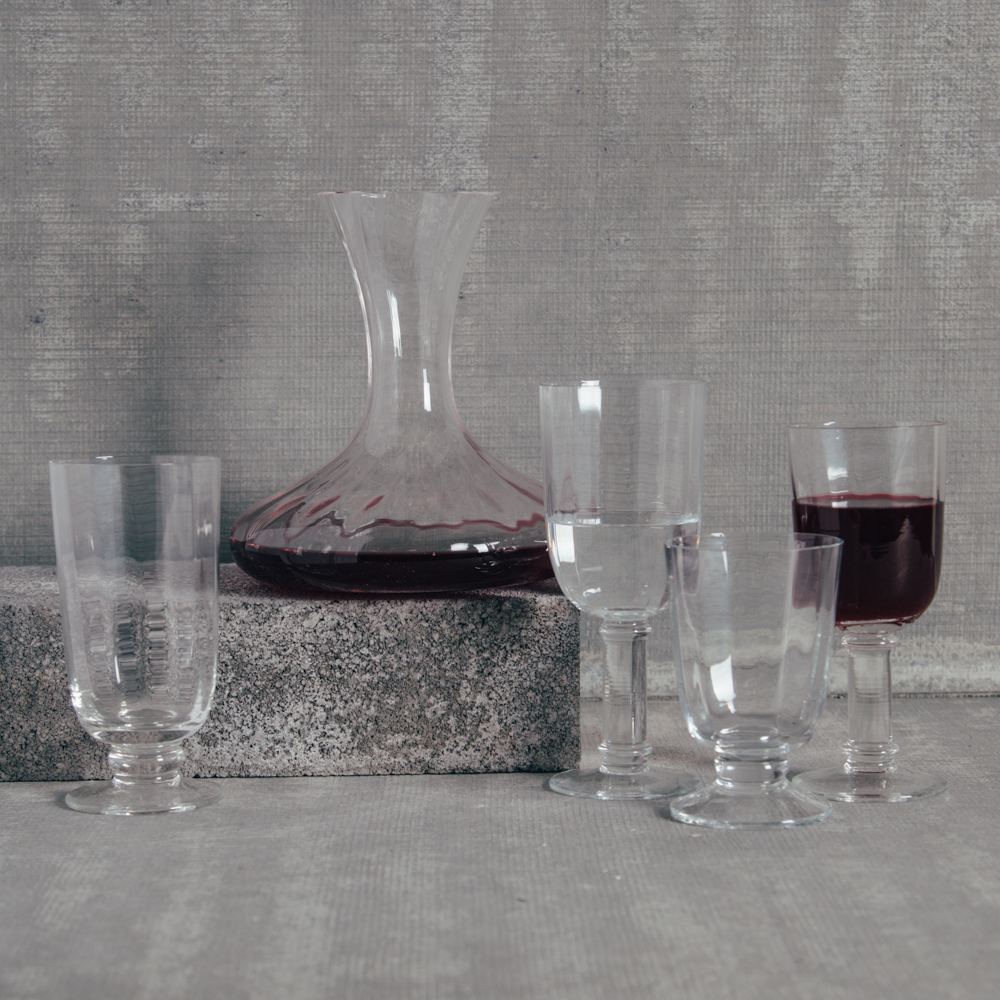 Casafina Optic Glassware Collection Relish Decor
