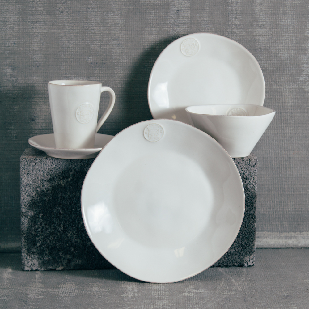 Casafina White Forum Dinnerware Collection Relish Decor