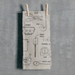 Chef de Cuisine Tea Towel Relish Decor