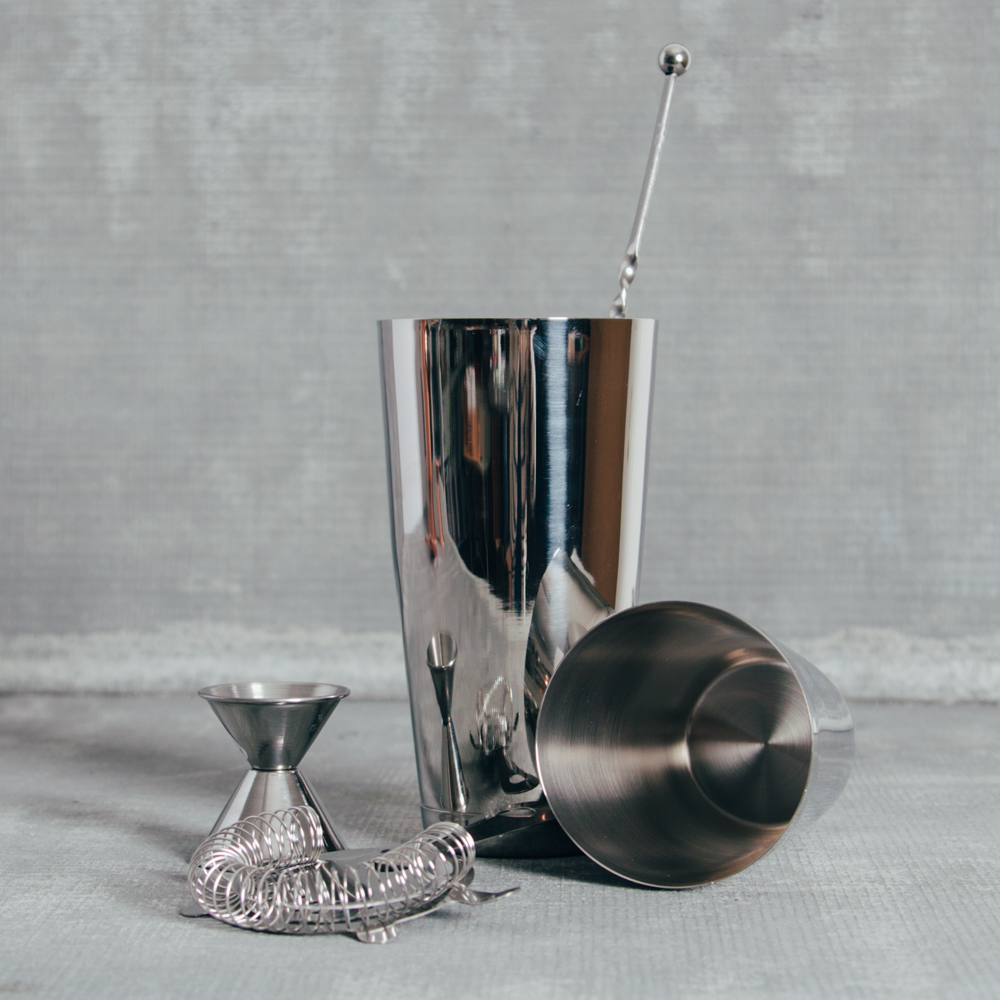 Classic Stainless Steel Barware Collection Relish Decor
