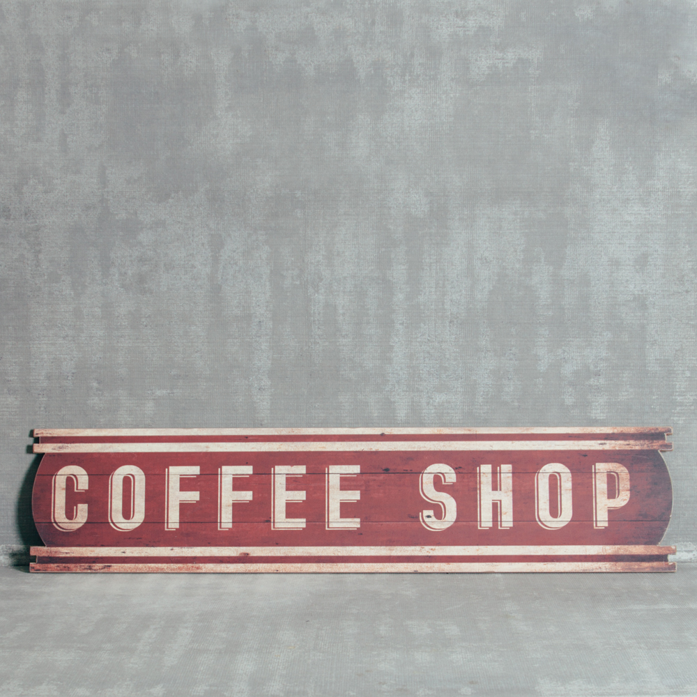 Coffee Shop Sign Relish Decor