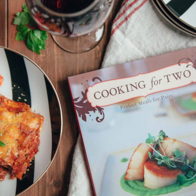 Cooking for Two Cookbook Relish Decor