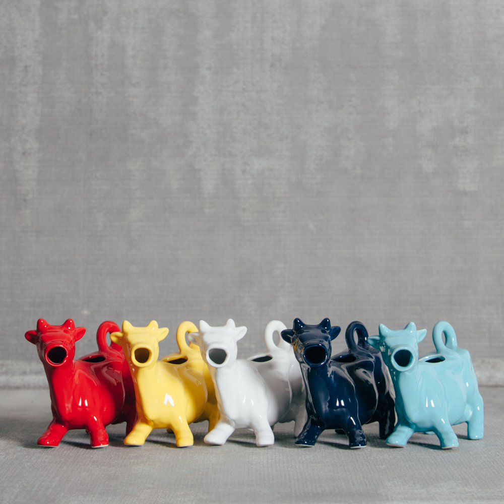 Cow Creamer Ceramic Relish Decor