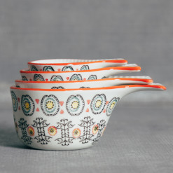 Dahlia Measuring Cups Set Relish Decor