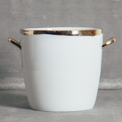 Dauville Gold Ice Bucket Relish Decor