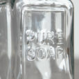 Essential Pure Soap Dispenser Pressed Glass Relish Decor