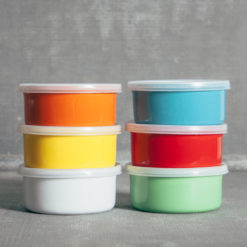 Essential Retro Round Bakers Relish Decor