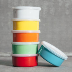 Essential Retro Round Storage Bakers Relish Decor