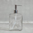 Essential Soap Dispenser Pressed Glass Relish Decor