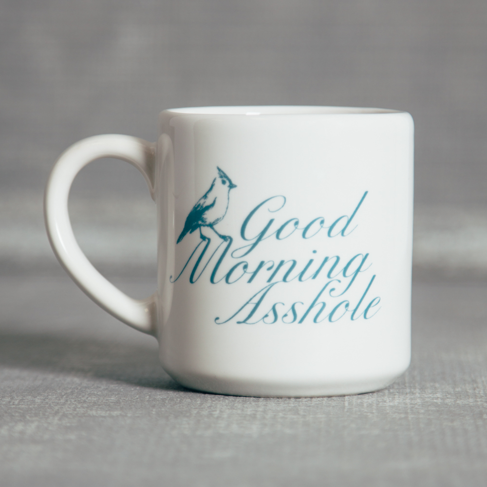 Good Morning Asshole Mug Relish Decor