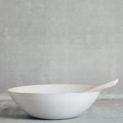 ibiza casafina low round salad serving bowl relish decor sea