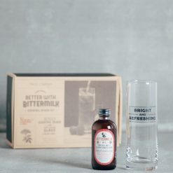 bittermilk cocktail mixer glass gift box set relish decor refreshing and bright elderflower tom collins