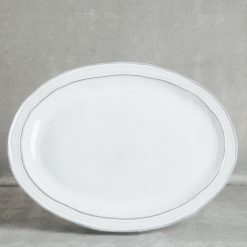 park dinnerware serveware casafina relish decor white oval platter