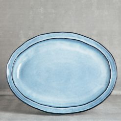 park dinnerware serveware casafina relish decor blue oval platter