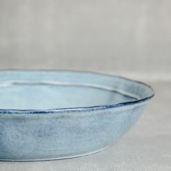 park dinnerware serveware casafina relish decor blue pasta server bowl detail
