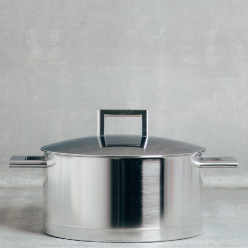 demeyere zwilling john pawson stainless steel professional cookware dutch oven 5.5 quart