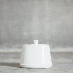 Relish Decor Costa Nova Dinnerware Astoria White Sugar Bowl