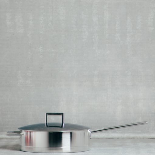 demeyere zwilling john pawson stainless steel professional cookware saute pan with lid