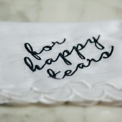 IMG_0542for happy tears handkerchief set wedding bridal gift embroidered detail