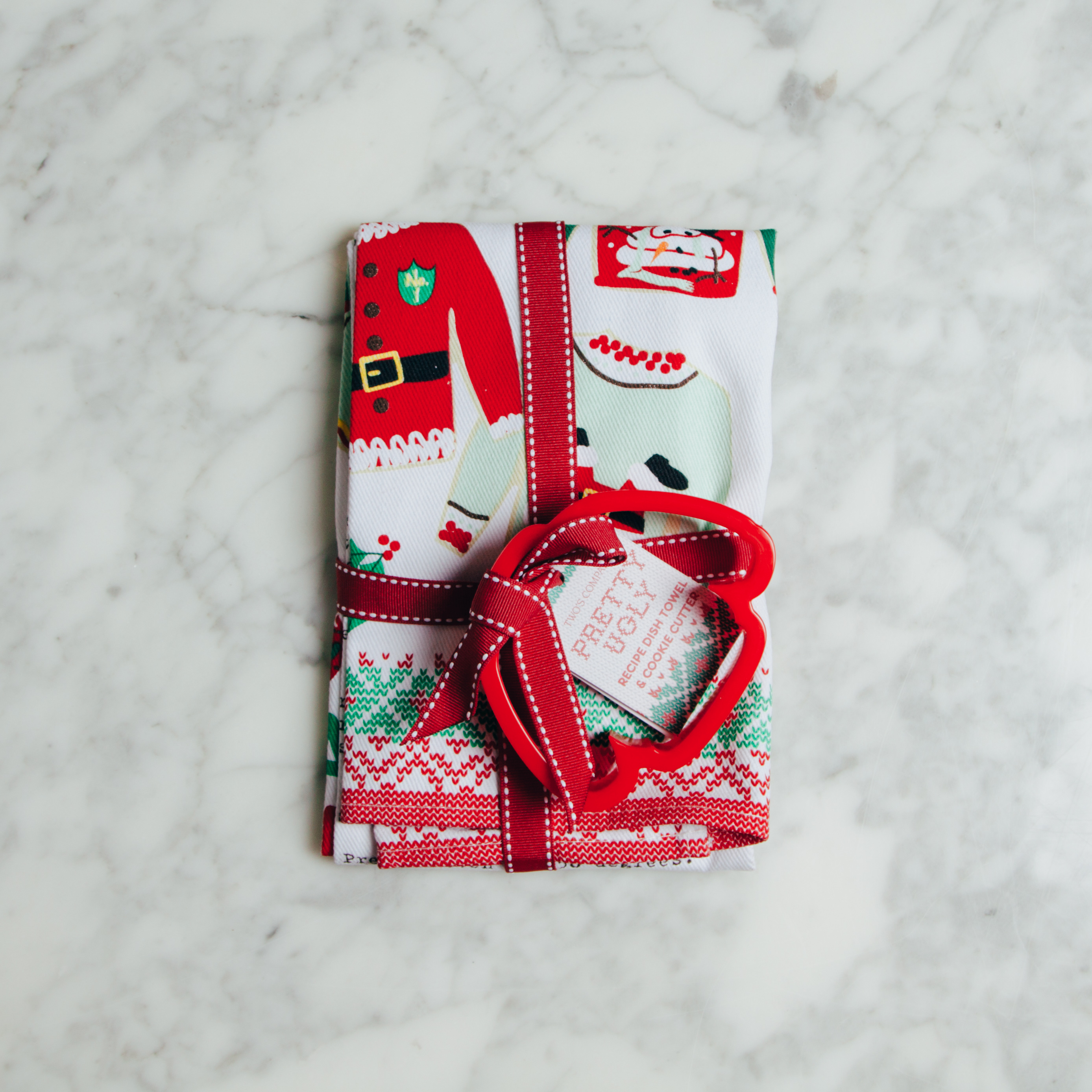 Ugly Sweater Tea Towel Cookie Cutter