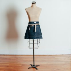 Relish Decor Artifact Denim Waist Apron