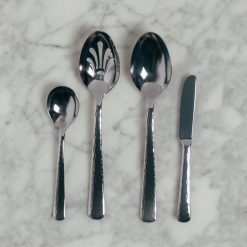 echo hostess flatware serving set four piece relish decor