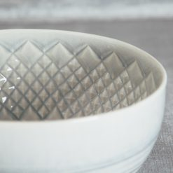 Relish Decor Costa Nova Cristal Grey Round Bowl